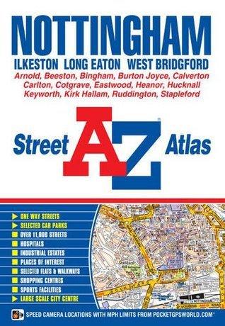 Nottingham Street Atlas  by  Geographers A-z Map Company Ltd