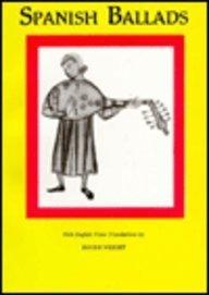 Spanish Ballads with English Verse Translations Roger Wright