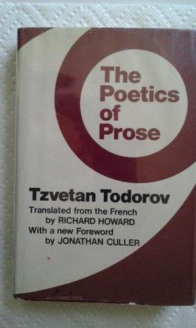 Poetics of Prose Tzvetan Todorov