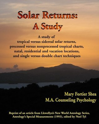 Solar Returns: A Study  by  Mary Fortier Shea