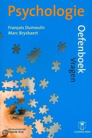Psychologie: Oefenboek François Dumoulin