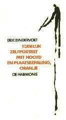 Tijdelijk zelfportret met hoofd en plaatsbepaling, oranje Erik Bindervoet