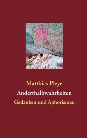 Anderthalbwahrheiten: Gedanken und Aphorismen  by  Matthias Pleye
