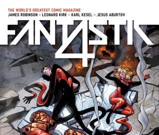 Fantastic Four (2014) #2  by  James Robinson