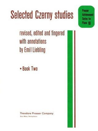 Selected Czerny Studies Book Two Emil Liebling