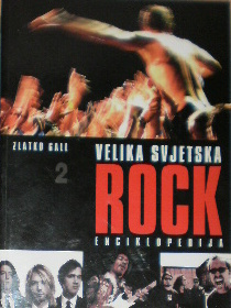 Velika svjetska rock enciklopedija 2  by  Zlatko Gall