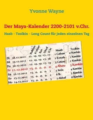 Der Maya-Kalender 2200-2101 v.Chr.: Haab - Tzolkin - Long Count für jeden einzelnen Tag  by  Yvonne Wayne