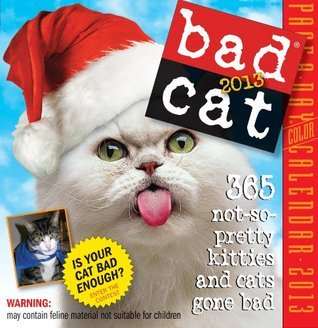Bad Cat 2013 Page-A-Day Calendar  by  NOT A BOOK
