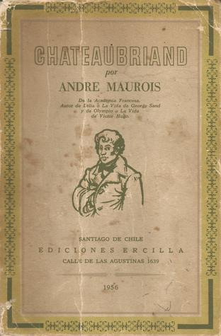Chateaubriand  by  André Maurois