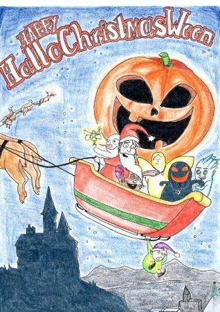 Happy HalloChristmasWeen  by  Steve Bocus