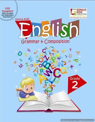 Genius Kidz English Grammar  & Compositions 2 Book Genius Kidz Publications