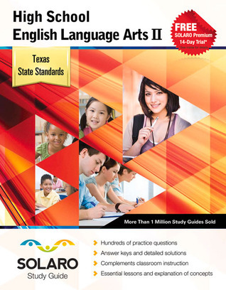 Texas High School English Language Arts II: SOLARO Study Guide  by  Castle Rock Research Corp.