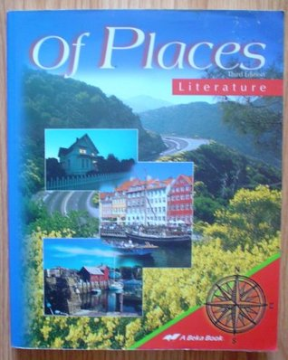 Of Places, Literature Third Edition Jan Anderson