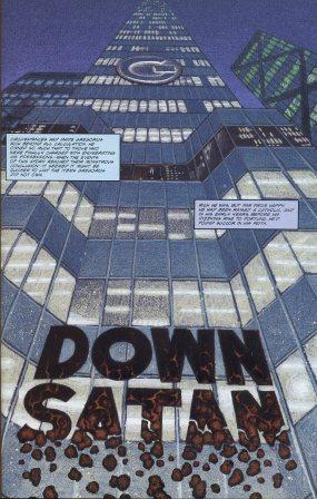 Down, Satan  by  NOT A BOOK