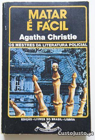 Matar É Fácil  by  Agatha Christie