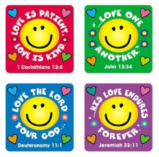 Love Verses Stickers Carson-Dellosa Publishing