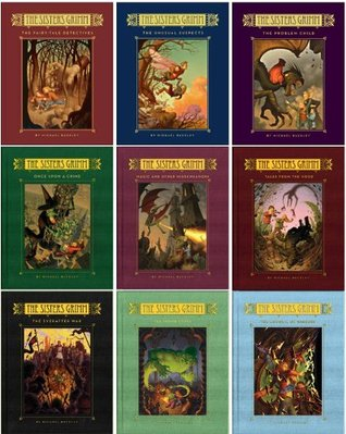 Sisters Grimm Series 1-9 Hardcover Collection (The Fairy-Tale Detectives, The Unusual Suspects, The Problem Child, Once Upon a Crime, Magic and Other Misdemeanors, Tales from the Hood, The Everafter War, The Inside Story, The Council of Mirrors, 1-9)  by  Michael Buckley