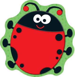 Ladybugs Mini Cut-Outs  by  Carson-Dellosa Publishing