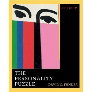 The Personality Puzzle W/ Pieces of the Personality Puzzle Included  by  David C. Funder