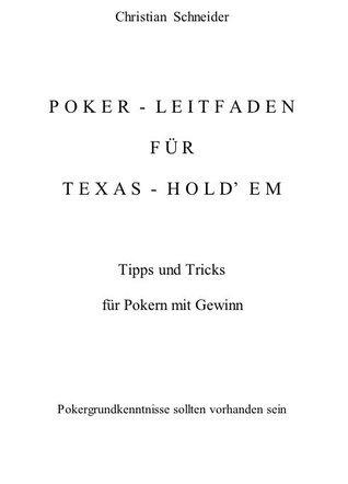 Poker Tipps Und Tricks