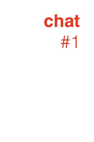 chat #1: some bots just had a chat Laura Bernhardt