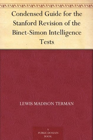 Measurement of Intelligence  by  Lewis Madison Terman