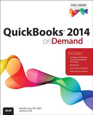 QuickBooks 2014 on Demand  by  Gail Perry