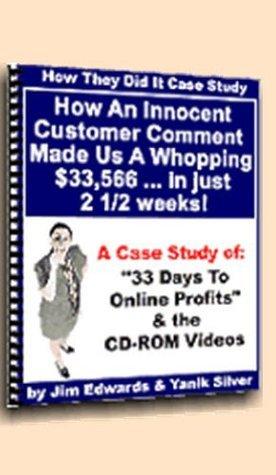 33 Days To Online Profits Case Study Wen Chunshui