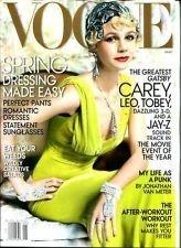 Vogue Magazine (May 2013) Carey Mulligan - The Great Gatsby (Leonardo DiCaprio, Tobey McGuire, etc)  by  Vogue Magazine