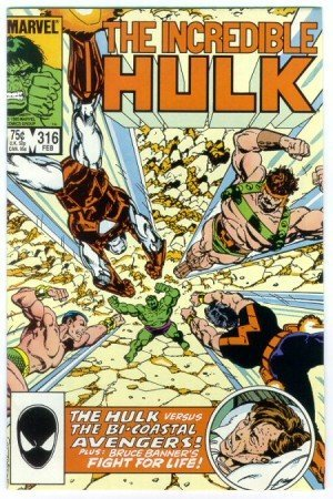 Incredible Hulk #316 Avengers Appearance  by  Byrne
