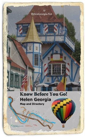 Helen Georgia Map and Directory  by  Brent Thomason