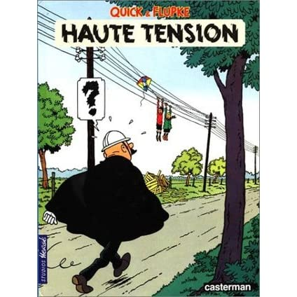 Haute tension by herg reviews discussion bookclubs lists for Haute tension mots fleches