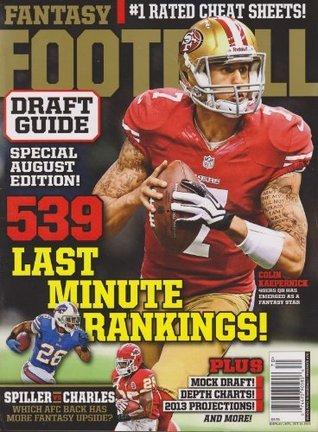 Fantasy Football Draft Guide 2013 Various