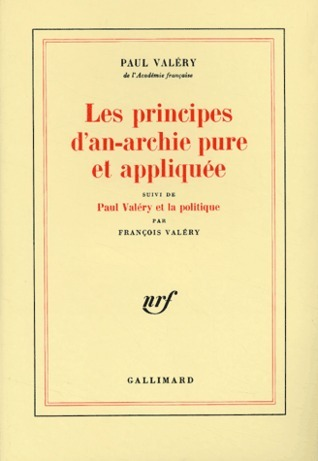 Les Principes dan-archie pure et appliquée  by  Paul Valéry