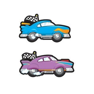 Race Cars Cut-Outs  by  NOT A BOOK