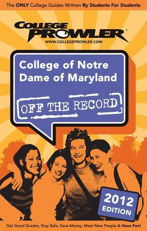 College of Notre Dame of Maryland 2012 Morgan Randall