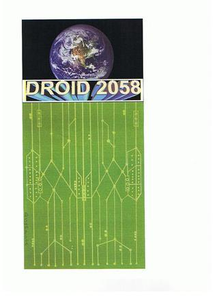Droid 2058  by  D Sampson