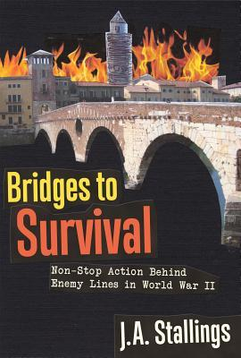 Bridges to Survival: Non-Stop Action Behind Enemy Lines in World War II  by  J.A. Stallings