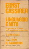Linguaggio e mito. Le parole e le cose nel pensiero  by  Ernst Cassirer