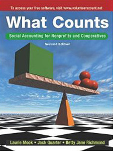 What Counts: Social Accounting For Nonprofits And Cooperatives Jack Quarter