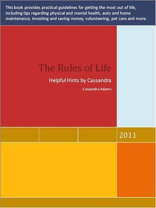The Rules of Life Cassandra Adams
