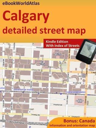 Map of Calgary  by  eBook World Atlas Team