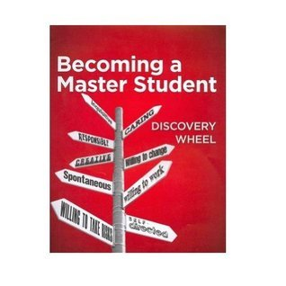 Student Discovery Wheel for Ellis Becoming a Master Student, 14th  by  David B. Ellis