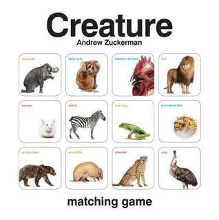 Creature Matching Game Andrew Zuckerman
