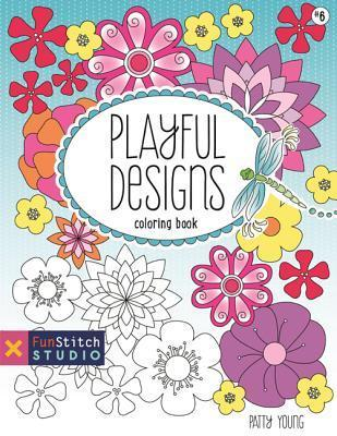 Playful Designs Coloring Book Patty Young by Patty Young