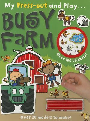 Press-Out and Play Busy Farm Lara Ede