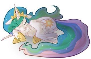 Celestia Sleeps In Admiral Biscuit