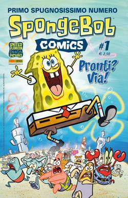 SpongeBob Comics n. 1  by  Graham Annable