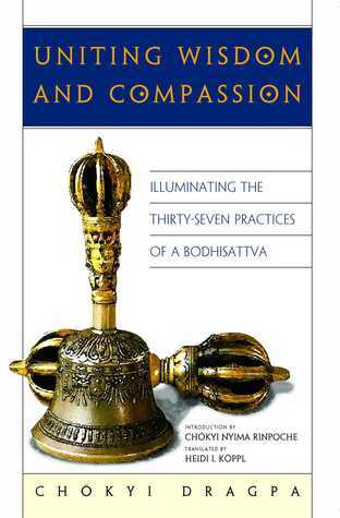 Uniting Wisdom and Compassion: Illuminating the Thirty-Seven Practices of a Bodhisattva  by  Chokyi Dragpa