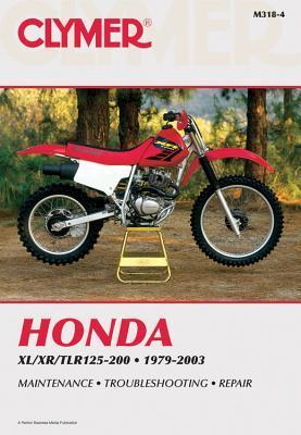 Honda XL/XR/TLR125-200 1979-2003 Clymer Publishing